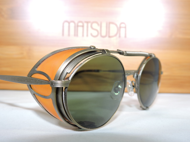 24343d8ea4 The Futuristic and Classic look brought to the forefront of fashion by  Matsuda Eyewear
